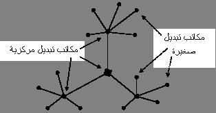شكل1: شبكة الهواتف العامة
